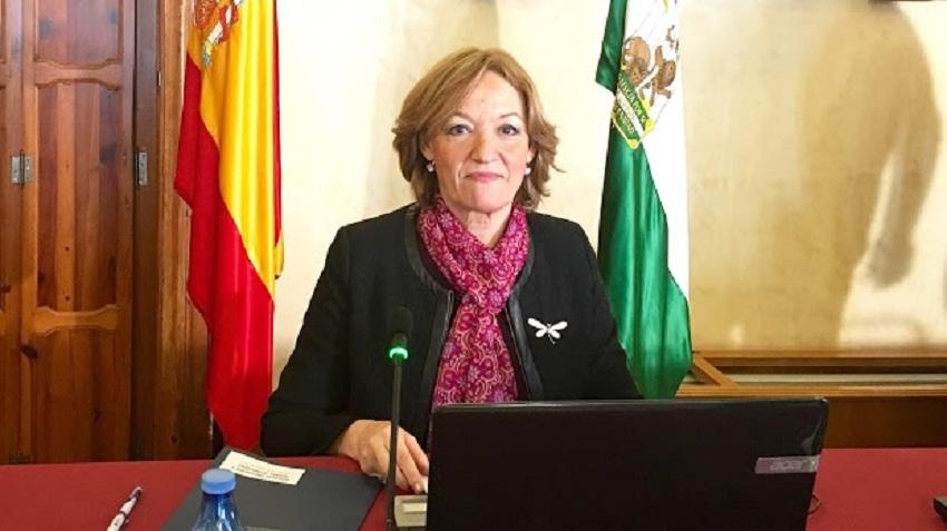 Carmen Ortiz, consejera de Agricultura de la Junta / La Voz