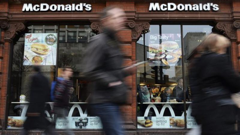 restaurante de comida rapida mcdonals