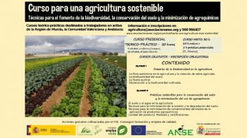 cursos agricultura sostenible