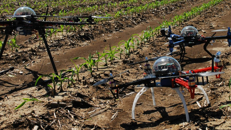 drones agricultura
