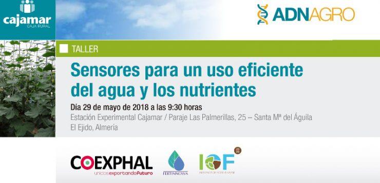 Jornada Técnica Agroalimentaria – Sensores para un Uso Eficiente del Agua y los Nutrientes