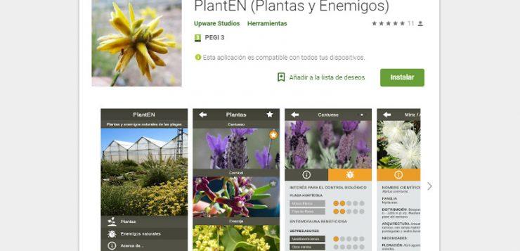 PlantEN, una App para el control biológico