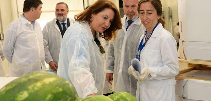 """Crespo apuesta por reforzar """"ahora más que nunca la inspección fronteriza"""" para proteger la producción propia de la competencia desleal"""