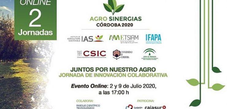 Se celebra Agrosinergias 2020 en una doble jornada online para la innovación colaborativa en agricultura