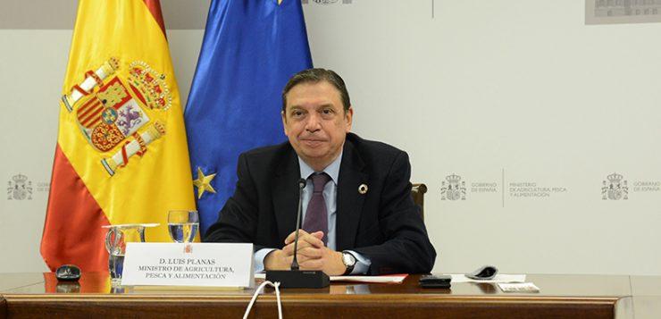Luis Planas: El sector agroalimentario será un puntal clave en la recuperación económica